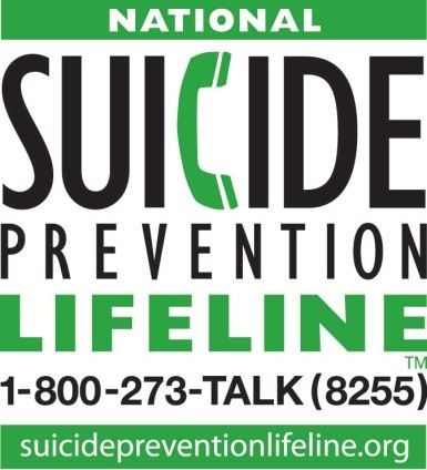 National Suicide Prevention Lifeline logo
