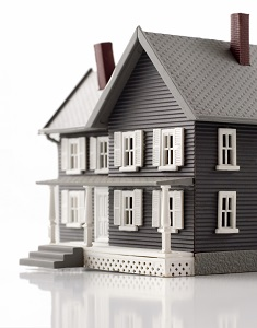 Detailed toy house