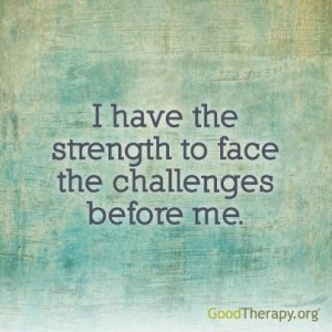 i have strength affirmation