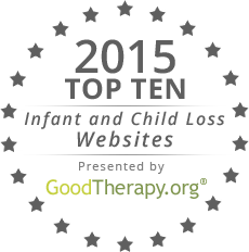 GoodTherapy.org's child and infant loss support websites for 2015