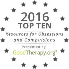 Seal for GoodTherapy.org's Top Ten Resources for Obsessions and Compulsions