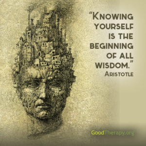 """Knowing yourself is the beginning of all wisdom."" -Aristoltle"