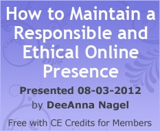 How to Maintain a Responsible and Ethical Online Presence as a Mental Health Practitioner