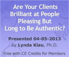 Are Your Clients Brilliant at People Pleasing But Long to Be Authentic?