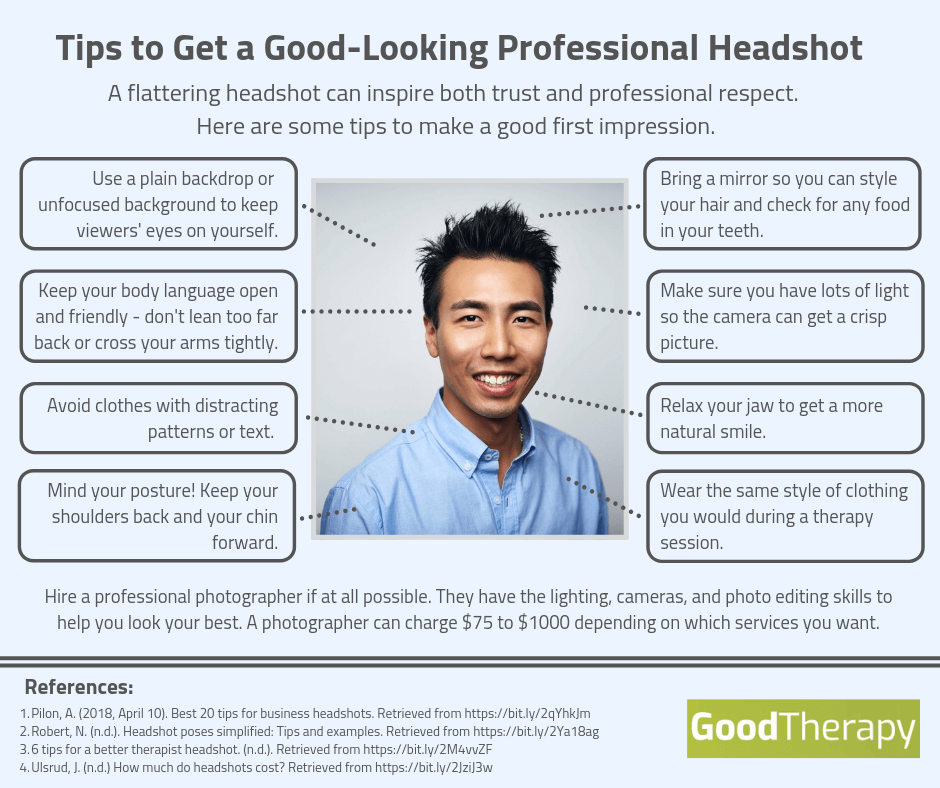 Tips to Get a Good-Looking Professional Headshot