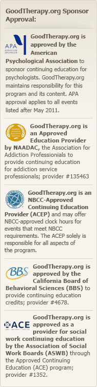GoodTherapy.org Approved by APA