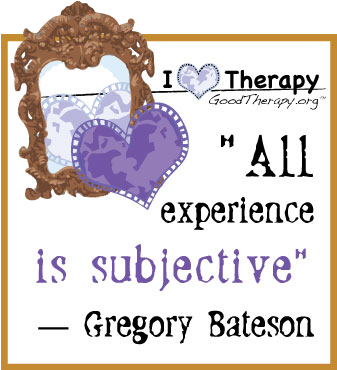 Quote on subjectivity by Gregory Bateson