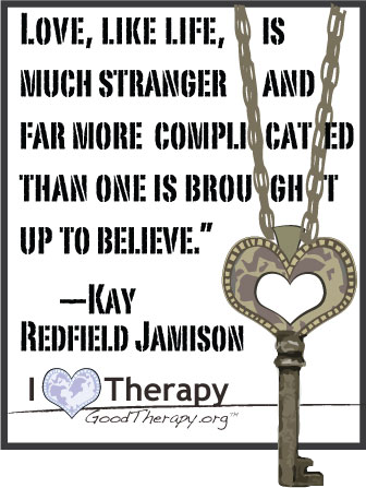 Quote on love by Kay Redfield Jamison