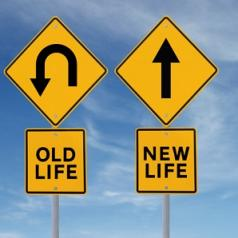 old life and new life signs