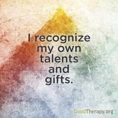 affirmation talents and gifts