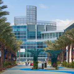 Outside view of Anaheim Convention Center